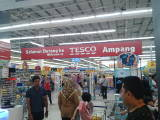Overcrowded supermarket